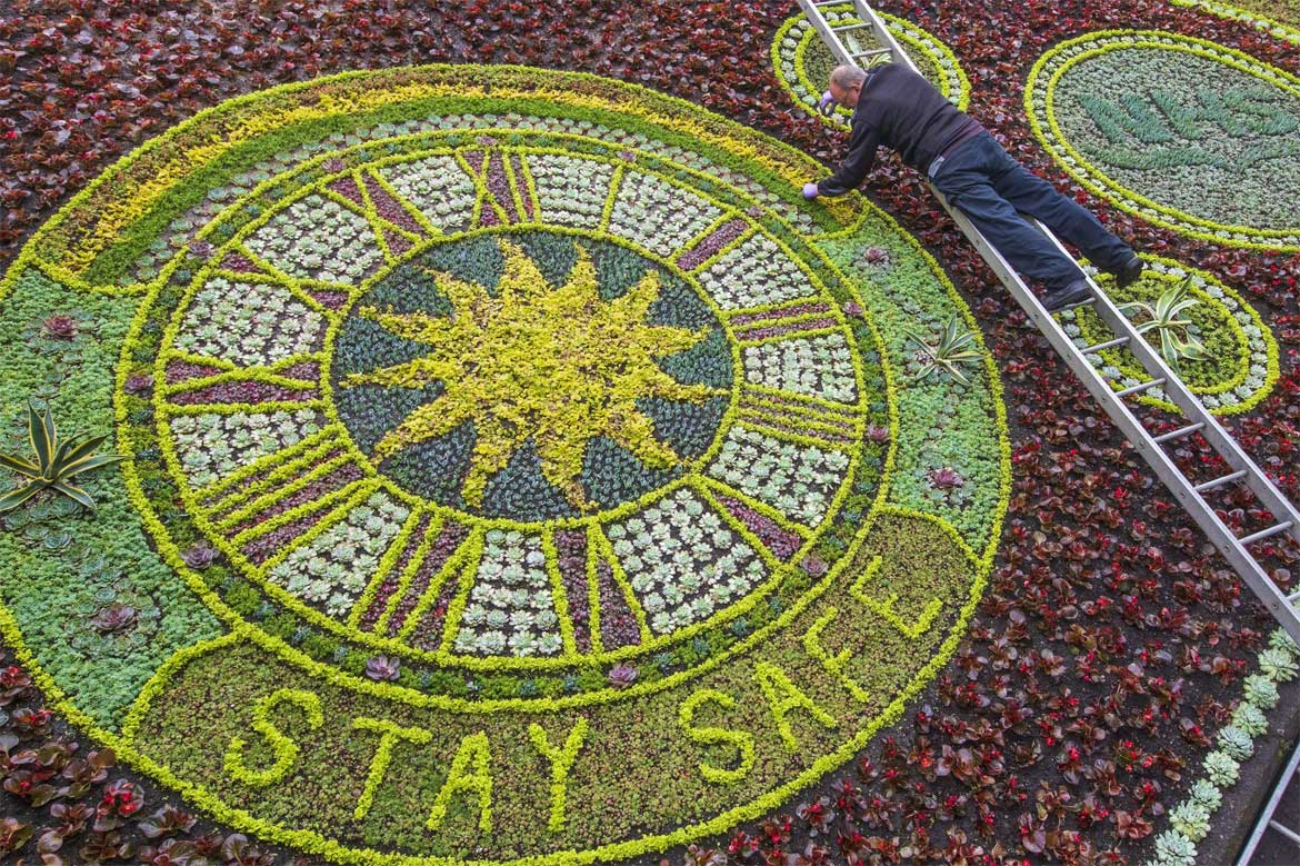 floral clock edinburgh